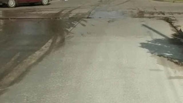 Finalizó la pavimentación de la calle Hortiguera