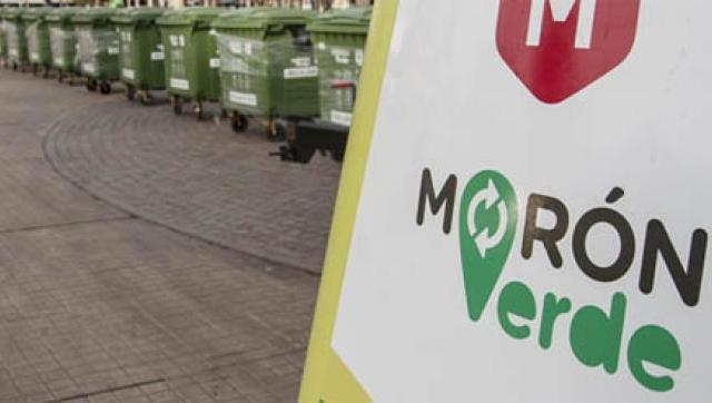 """""""Morón Verde"""" recicló más de 2 millones de botellas de plástico"""