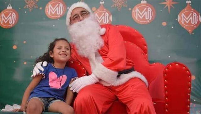 Festejos por la Navidad en Ituzaingó