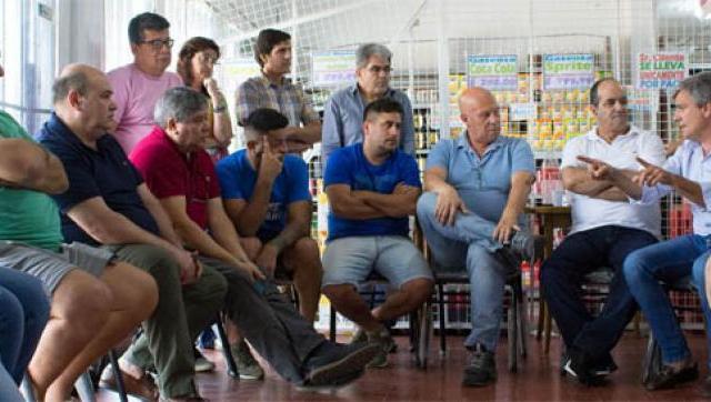Zabaleta se reunió con comerciantes para brindar beneficios a titulares de la Tarjeta Alimentaria