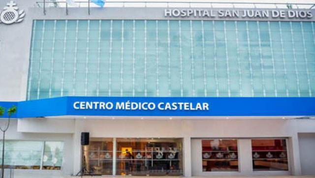 Llegada de la Casa Hospital San Juan de Dios a Castelar
