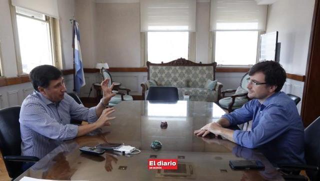 Lucas Ghi y Daniel Arroyo ultimaron detalles para la llegada de la Tarjeta Alimentaria