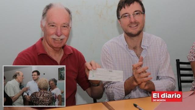 Ghi entregó bonos del Fondo de Fortalecimiento a instituciones de Morón