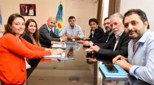Ghi se reunió con el secretario Pyme de Nación Guillermo Merediz