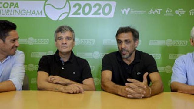Zabaleta presentó la Copa Hurlingham de Tenis junto a Mariano Zabaleta y Martín Vassallo Argüello