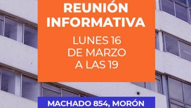 Reuniones informativas en la Universidad de Morón (UM)