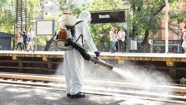 Dengue: Trenes Argentinos anunció que realizará tareas de fumigación