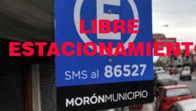 En Morón se suspende el cobro del estacionamiento medido y postergan vencimientos de licencias de conducir