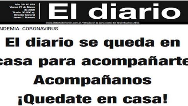 El diario 879 - 27 de Marzo