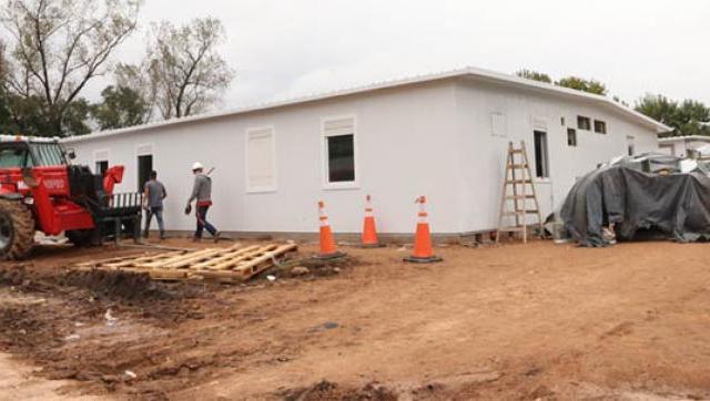 El nuevo hospital de Moreno estará listo en los próximos días