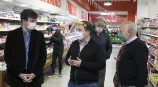 Iniciativa solidaria de un supermercado de Castelar