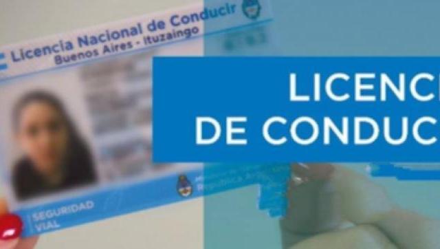 Ituzaingó prorrogó el vencimiento de las licencias de conducir