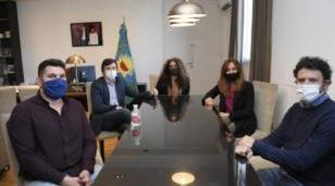 Ghi y Tolosa Paz se reunieron para articular acciones para la prevención de contagios de COVID-19 en Morón