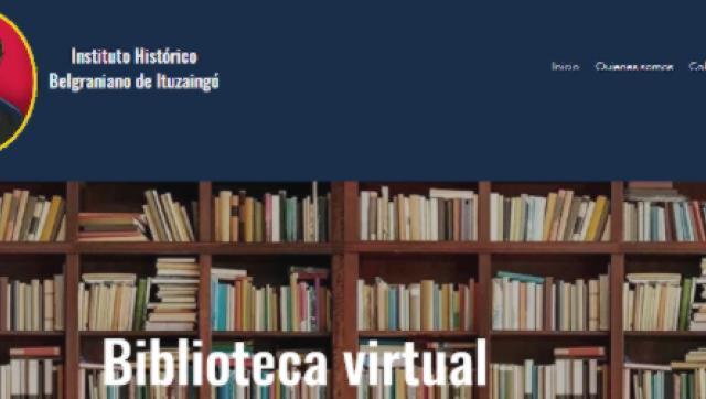 El Instituto Belgraniano presenta su nueva biblioteca virtual