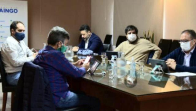 Intendentes del conurbano mantuvieron un encuentro virtual con periodistas y respaldaron las medidas de Kicillof