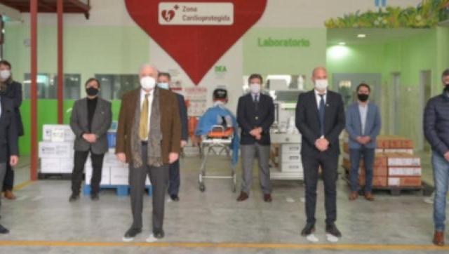 Más equipamiento e insumos para la salud en Ituzaingó