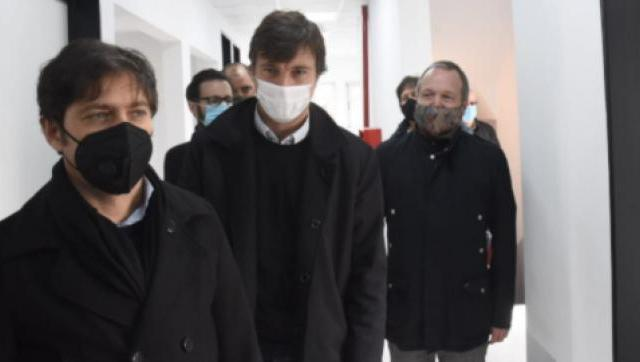Kicillof y Ghi inauguraron un centro de salud en Castelar norte