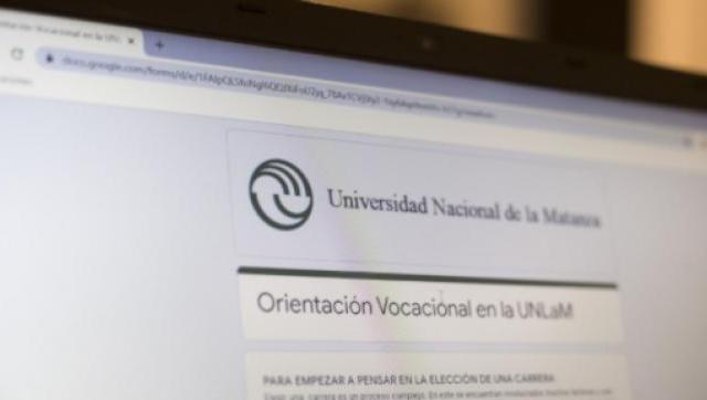 6.500 personas utilizaron el servicio virtual de orientación vocacional de la UNLaM