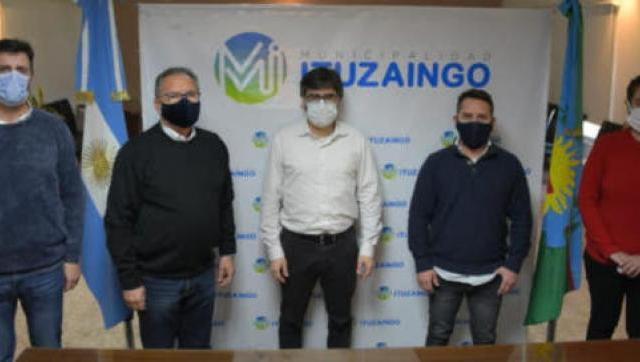 Ituzaingó firmó un convenio de cooperación con el PAMI