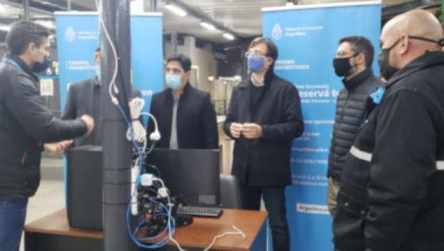 Instalaron una cámara de detección de temperatura corporal en la estación de Morón