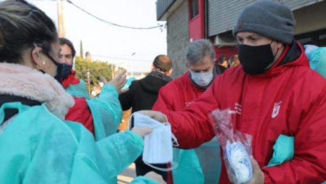 Operativos de detección temprana de Covid-19 en el barrio Carlos Gardel