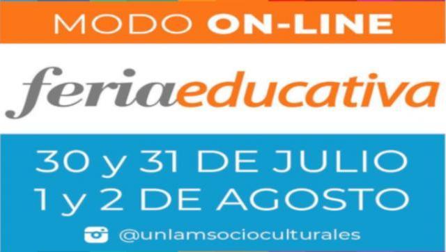 Con formato virtual, comienza una nueva edición de la Feria Educativa de la UNLaM