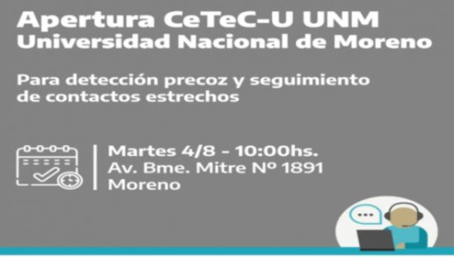 La UNM abre un Centro de Telemedicina COVID UNM (CeTeC-U)