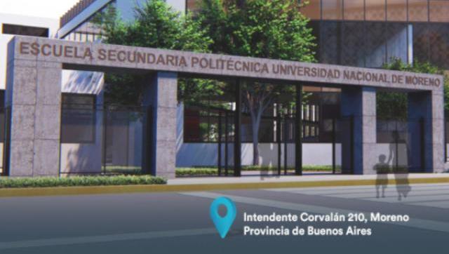 La UNM presentó su Escuela Secundaria Politécnica