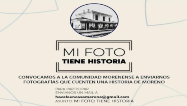 Convocatoria: Mi foto tiene historia en Moreno