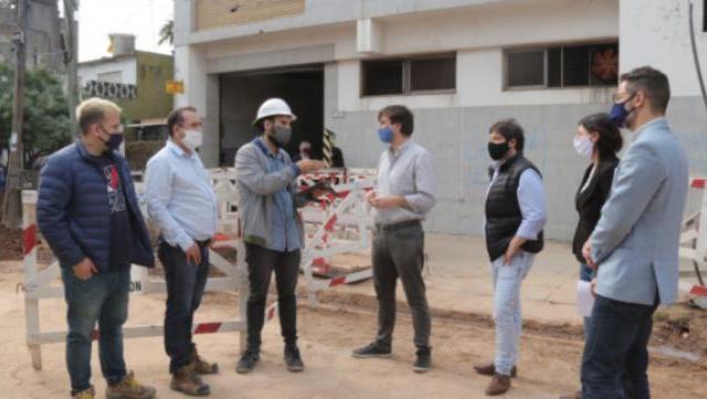 Avanzan las obras del plan cloacal en Morón, Haedo y El Palomar