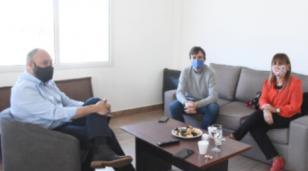 Lucas Ghi se reunió con la fiscal general Karina Iuzzolino