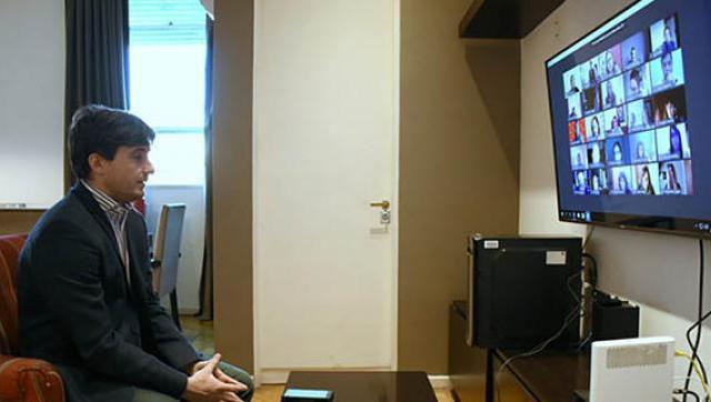 Ghi se reunió con representantes de instituciones educativas privadas de Morón