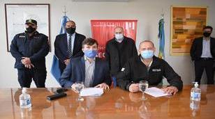 Ghi y Berni inauguraron las nuevas instalaciones de la UTOI en el Parque Industrial DECA