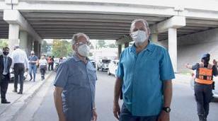Berni y Descalzo trabajando juntos por la seguridad en el distrito
