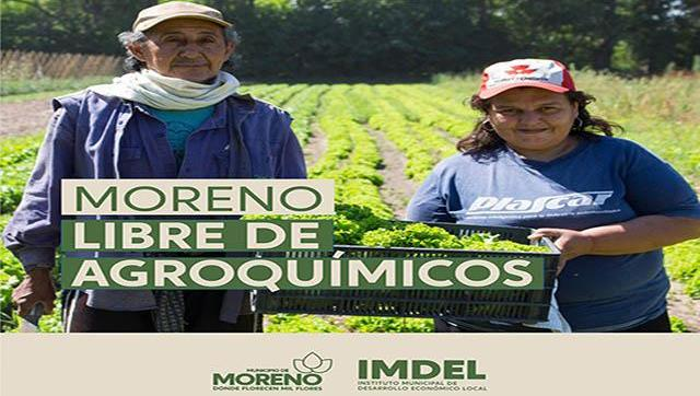 Moreno libre de agroquímicos