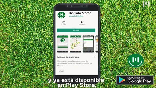 El Municipio habilitó un aplicación para conocer el nivel de ocupación de espacios verdes