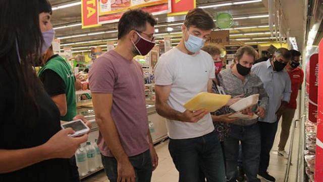 El Gobierno local fiscalizó el cumplimiento de los acuerdos de precios en supermercados