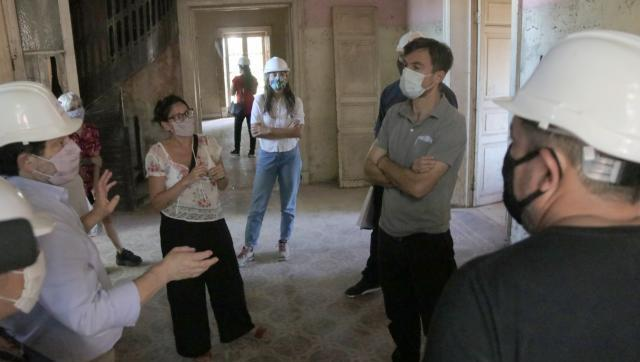 La Municipalidad puso en marcha las obras de recuperación de la ex Quinta Paracone en Morón