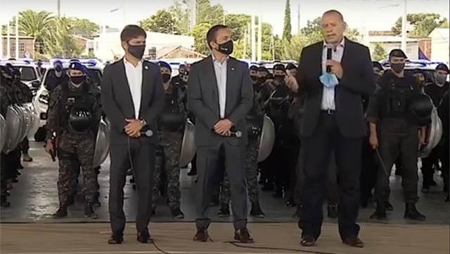 """Berni aseguró que detrás de las protestas policiales hay una disputa """"por una caja millonaria"""""""