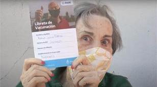 Comienza la vacunación a personas mayores de 70 años
