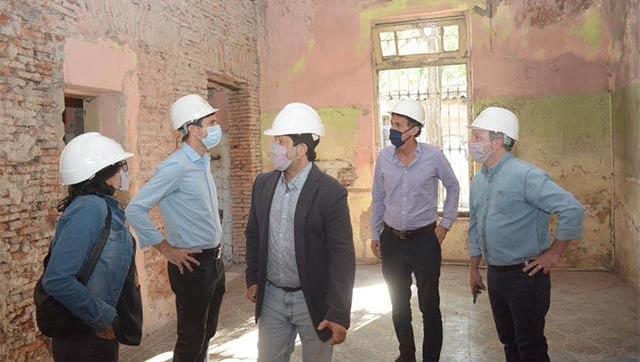 Katopodis recorrió obras de infraestuctura en Morón