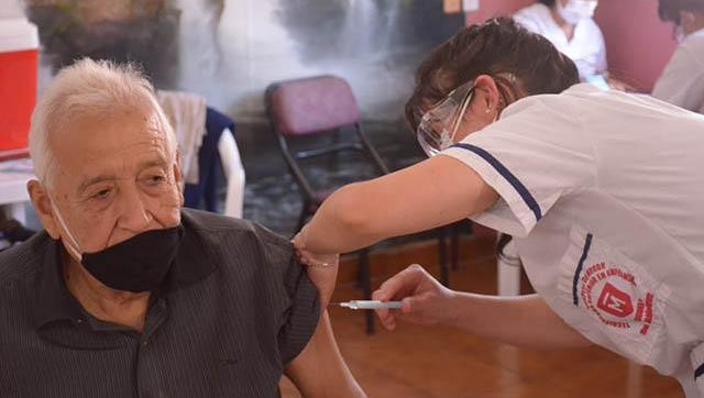 Avanza la campaña de vacunación en Morón