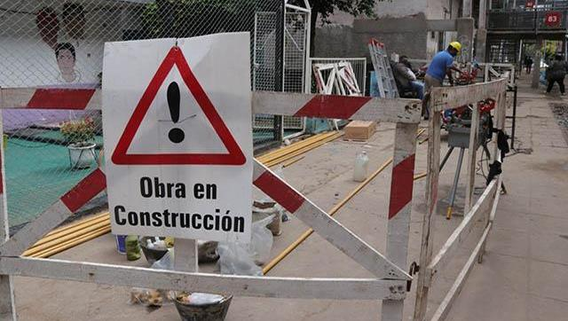 Avanzan las obras en el barrio Presidente Sarmiento