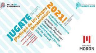 Ya se encuentra abierta la inscripción para los Juegos Bonaerenses 2021