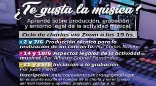 El Municipio de Morón lanza un ciclo de charlas sobre producción musical