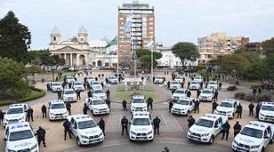 30 nuevos patrulleros y una fuerte inversión en Seguridad en Morón