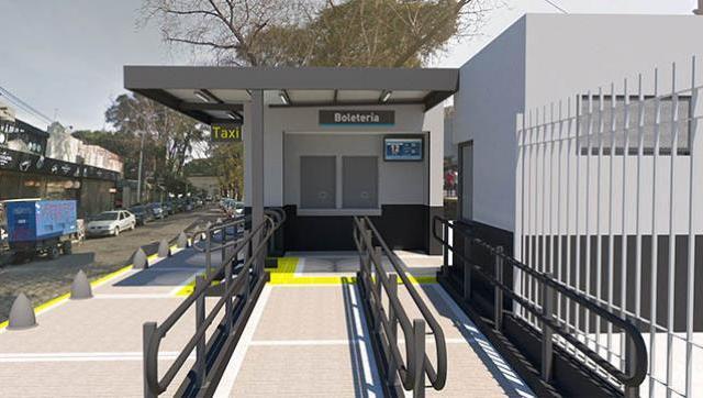 Comenzaron los trabajos para renovar la estación Haedo de la Línea Sarmiento