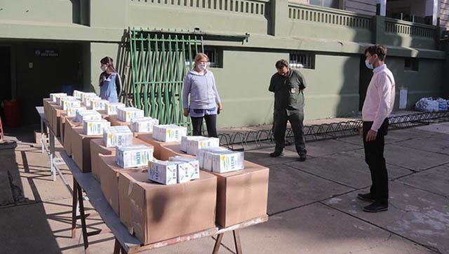 El Municipio amplía la entrega de alimentos en las escuelas de Morón