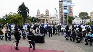 Morón renovó la flota vehicular de las Fuerzas de Seguridad en todo el Municipio