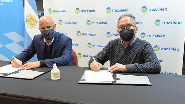 """Carta de acuerdo para la adhesión de Ituzaingó al programa """"Enlace Municipal Pyme"""